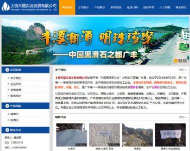 普通企业网站设计案例